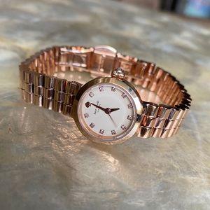 Kate Spade Tiny Gramercy Rose Gold Watch 1YRU0921